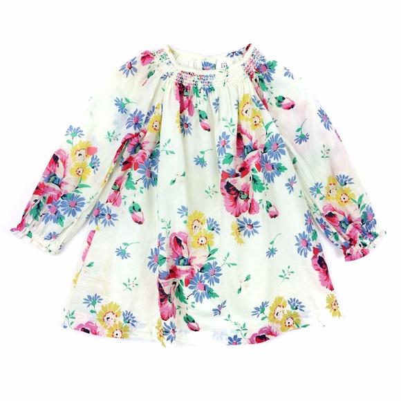 BabyGap Smocked Floral Dress & Bloomers
